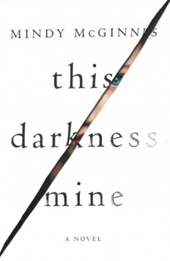 Wounded: This Darkness Mine by Mindy McGinnis with Signed Nameplate