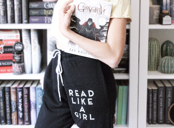 Read Like A Girl Joggers