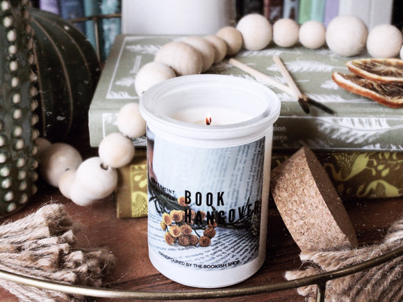 Book Hangover Candle