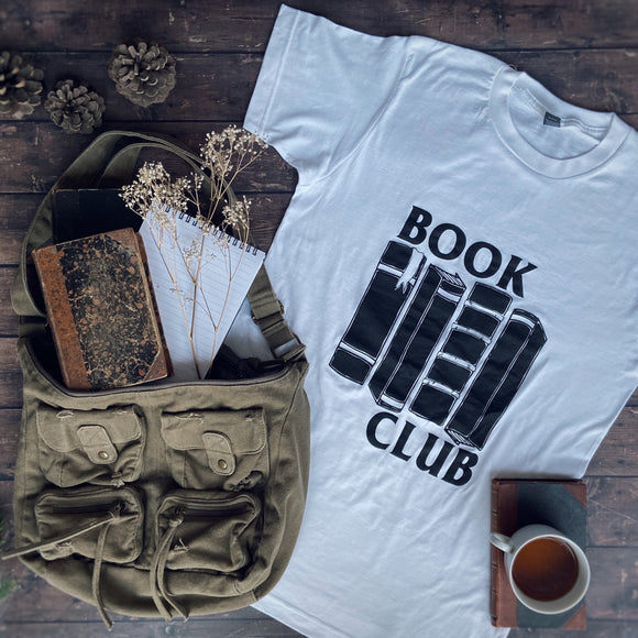 Book Club Black Flag Tee