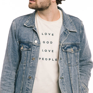 Love God, Love People T-Shirt
