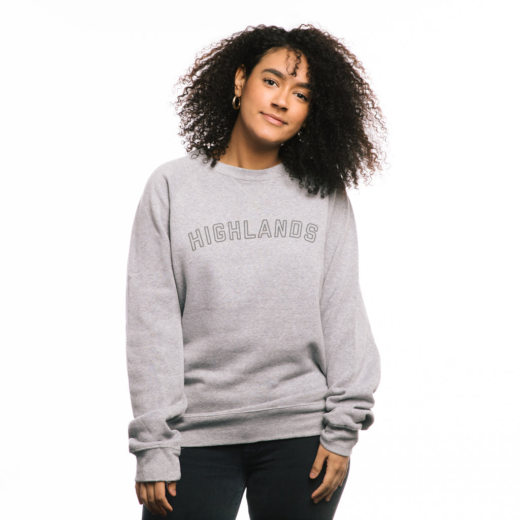 Highlands Block Letter Sweatshirt