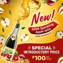 May Apple Sparkling Juice