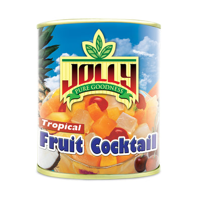 Jolly Tropical Fruit Cocktail