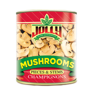 Jolly Pieces & Stems Mushrooms