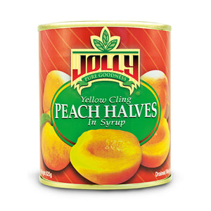 Jolly Peach Halves