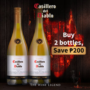 Casillero del Diablo Chardonnay 2x 750mL Save P200