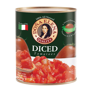 Doña Elena Diced Canned Tomatoes