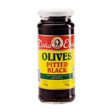 Doña Elena Pitted Black Olives