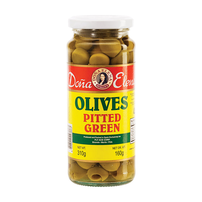 Doña Elena Pitted Green Olives