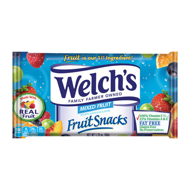 Welch's Fruit Snacks Mixed Fruits
