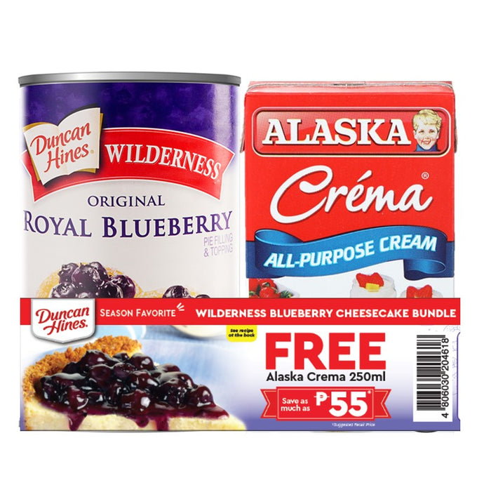 Wilderness Blueberry Cheesecake Bundle