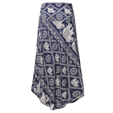skirt - elephant shirt