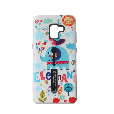 Anti Scraping Cute Colorful Elephant Phone Case