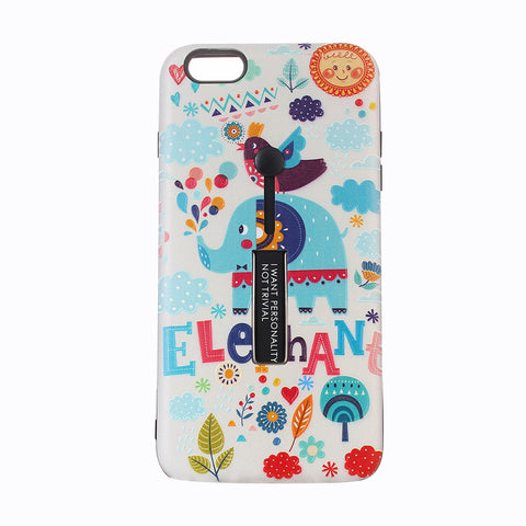 iPhone Cute Colorful Elephant Phone Case