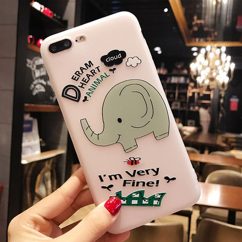 iPhone Cute Elephant Phone Case