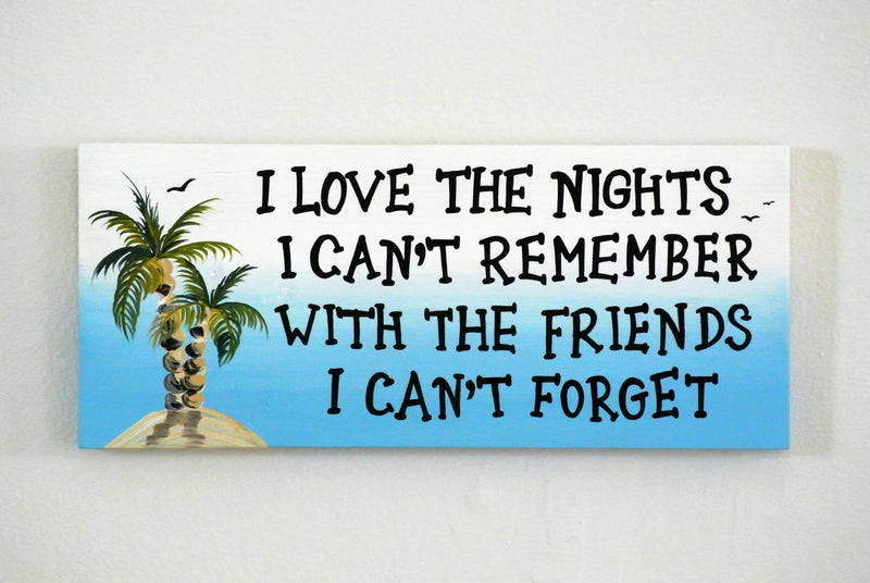 Best Friend Gift Home Decor wall art. I love the nights wood sign