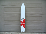 Aloha Surfboard Sign. Beach Party decor. Hawaiian event wall art. Guestbook Alternative.-iDecor4you