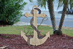 Anchor Wedding Guest book Wood board. Rustic Wedding Decor. Wedding gift idea.-iDecor4you