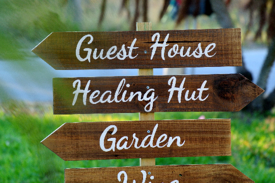 Guest House Destination Signs, Wooden Hotel decor, Garden/Beach sign post-iDecor4you