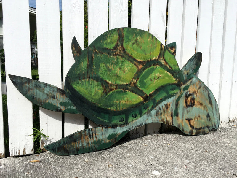 Turtle House wall decor. Gift for parents, Beach House Decor, Wooden Turtle Wall Art, Housewarming gift, Turtle Wood burning sign.
