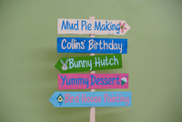 Kids Birthday Party Custom Wooden Sign, Event Table Decor, Gift Idea for Mom-iDecor4you