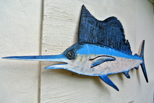 Large Wooden Fish Wall Decor from cdn.shopify.com
