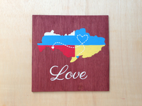 Love Map Wooden Wall Clock, Destination wedding sign, Distance love gift-iDecor4you