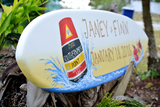 Personalized Wedding Surfboard Sign, Party Decoration, Southernmost point Key West-iDecor4you