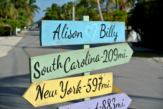 Rustic Directional Beach Sign, Wedding Ceremony Decoration, Wood Signage for Wedding Gift, Event signs, Party signage.-iDecor4you