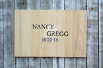 Rustic Guestbook Alternative, Wedding natural wooden guestbook gift. Comes with matching pen!-iDecor4you