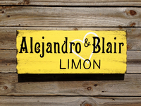 Rustic Last Name Wedding Gift, Family Name Wooden Sign, Personalized Anniversary Gift-iDecor4you
