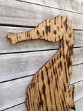 Seahorse outdoor decorative art sign, Custom Unique wood seahorse sign, Wooden Seahorse Wall decor, Housewarming Wooden Gift Sign.-iDecor4you