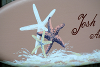 Seastar Guestbook, Wood Guest book Wedding Sign, Beach Wedding Decor, Unique Custom wedding gift.-iDecor4you