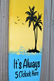Surfboard Pool decor. Family Oasis Wood sign. Tiki Bar decor. Family New House gift.-iDecor4you