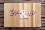 Wedding Guestbook Wood Sign with Decorative Pen, Wedding Guest book Ideas, Alternative Guest Book-iDecor4you
