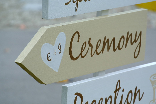 Welcome Directional Sign, Gold Wedding Decor, Shoes Optional, Personalized wedding gift.-iDecor4you