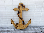 Wood Anchor Wedding Guest Book Sign, Anchor Wall Art, Rustic Wedding Decor.-iDecor4you