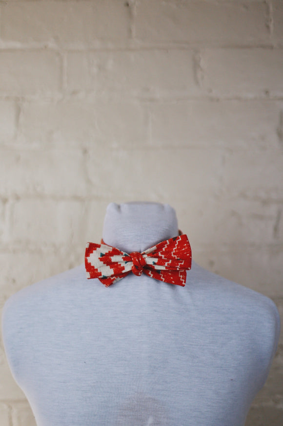 Bow Tie - Aztec Orange