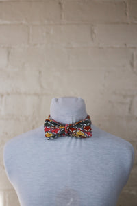 Bow Tie - Pinwale Cord Foxes