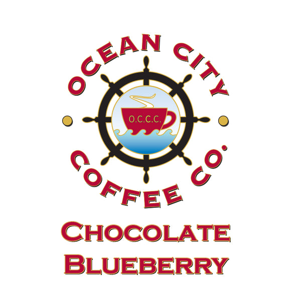 Chocolate Blueberry Flavored Coffee