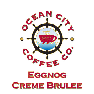Eggnog Creme Brulee Flavored Coffee