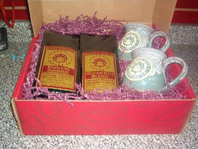 Large Coffee Gift Box With Two OCCC Mugs