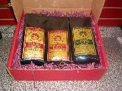 Large Coffee Gift Box With Two Regular & One Decaf Blend