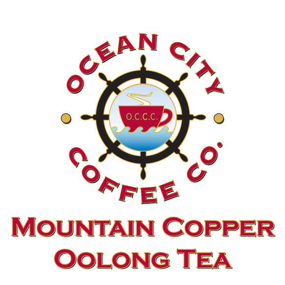 Mountain Copper Oolong Tea