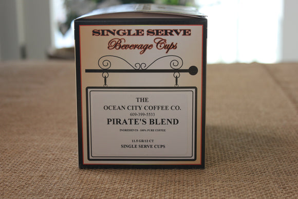 Pirate's Blend Coffee - Single Serve (KCUP)
