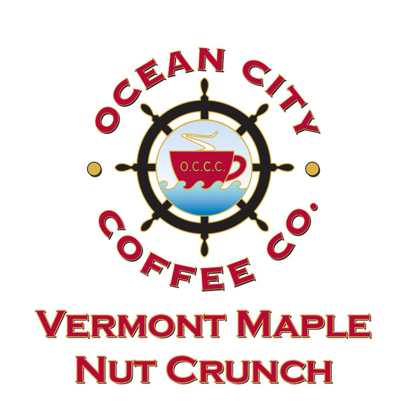 Vermont Maple Nut Crunch Flavored Coffee