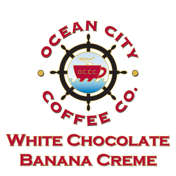 White Chocolate Banana Creme Flavored Coffee
