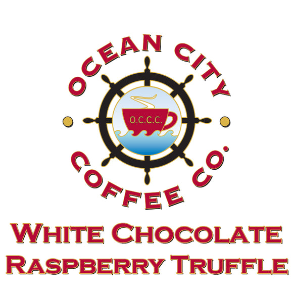 White Chocolate Raspberry Truffle Flavored Coffee