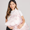 Pillowcase - Pink Marble - Queen - Zippered